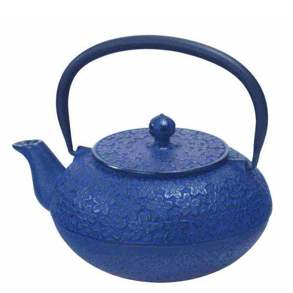 teekanne gusseisen sakura blau tea room teekult winterthur. Black Bedroom Furniture Sets. Home Design Ideas