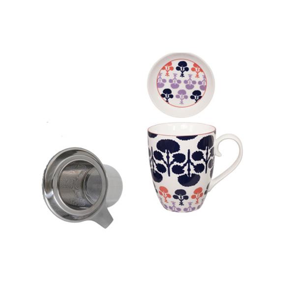 Teetasse Mit Sieb teetasse mit sieb und deckel baobab blau tea room teekult winterthur